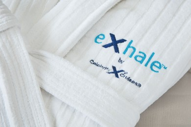 VELOUR SHAWL Bath Robe